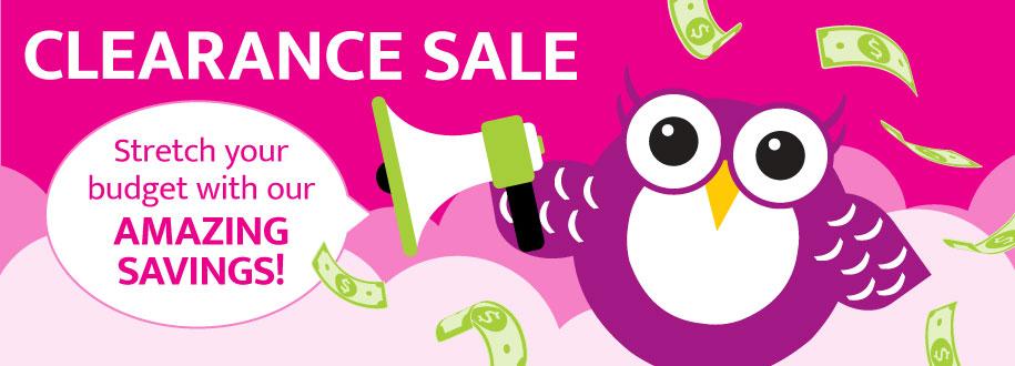 Clearance Sale - Amazing savings
