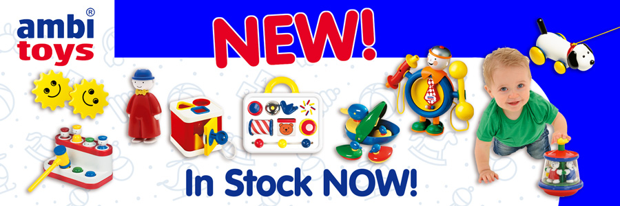 New ambi toys - In stock now