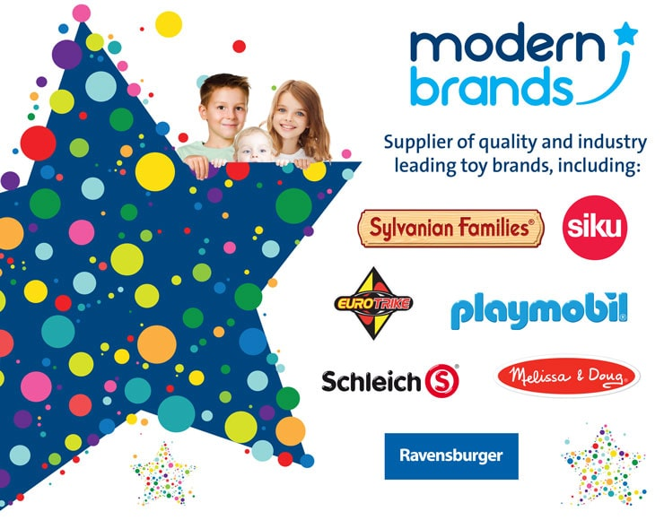 Modern Brands, Supplier of quality and industry leading toy brands