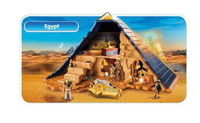 playmobil egypt - Tte De Mort Pirate