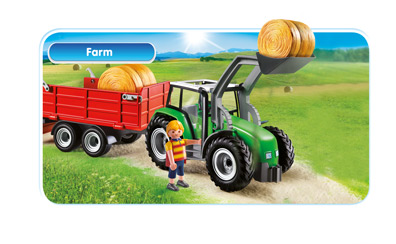 536acbfecbf Playmobil Farm