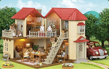 Sylvanian Families Homes