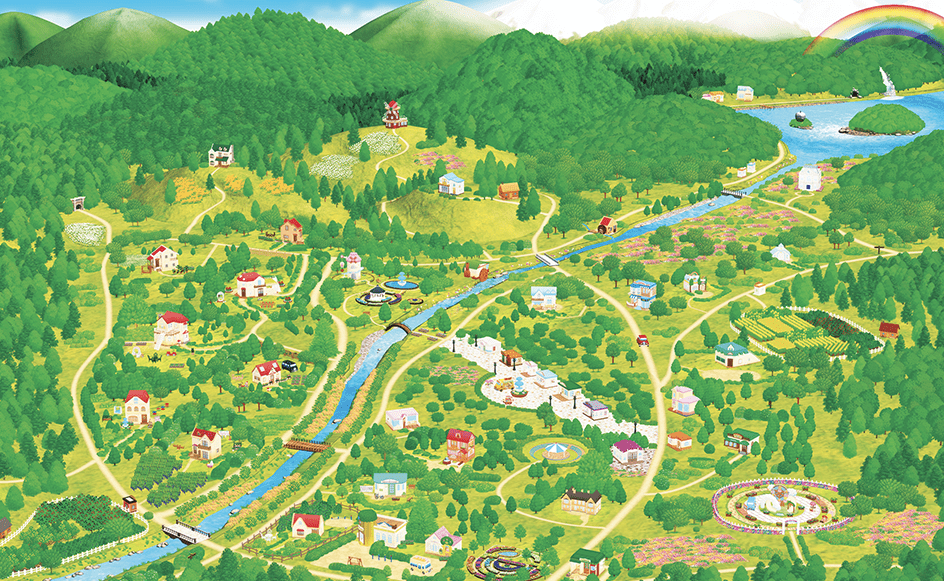 Map of Sylvania