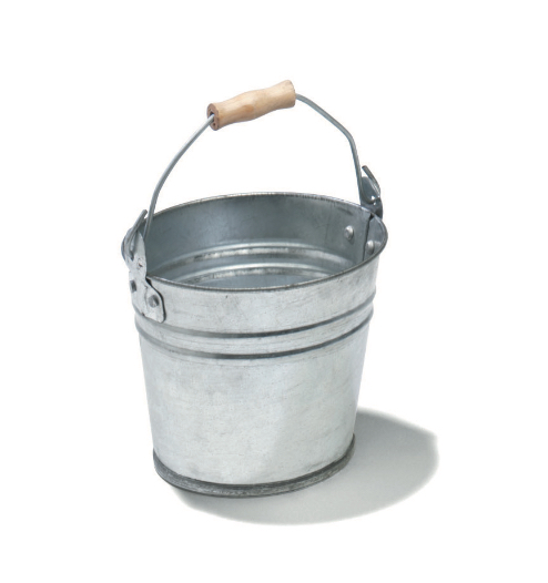 Bucket Galvanised - 5 Litre Capacity