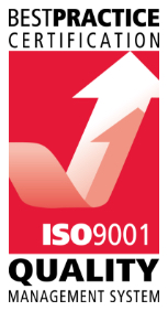 Best Practice Certification ISO 9001 - Quality Management System