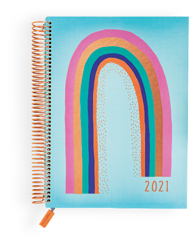 01/09 - 2021 Educator Planner with your choice of four cover designs