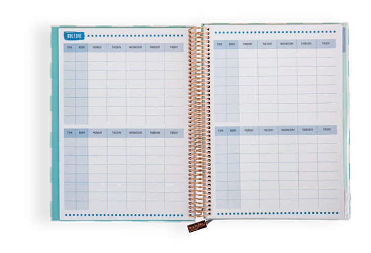 08/09 - Keep track of your rooms and routines in style!
