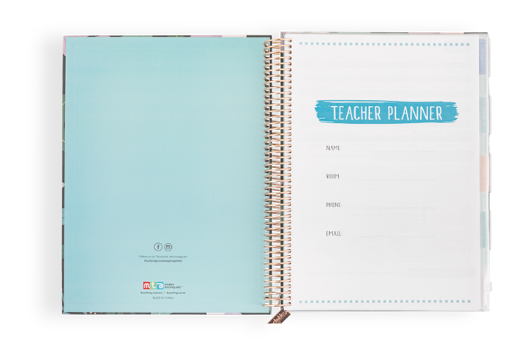 02/09 - Start personalising your planner from page one!