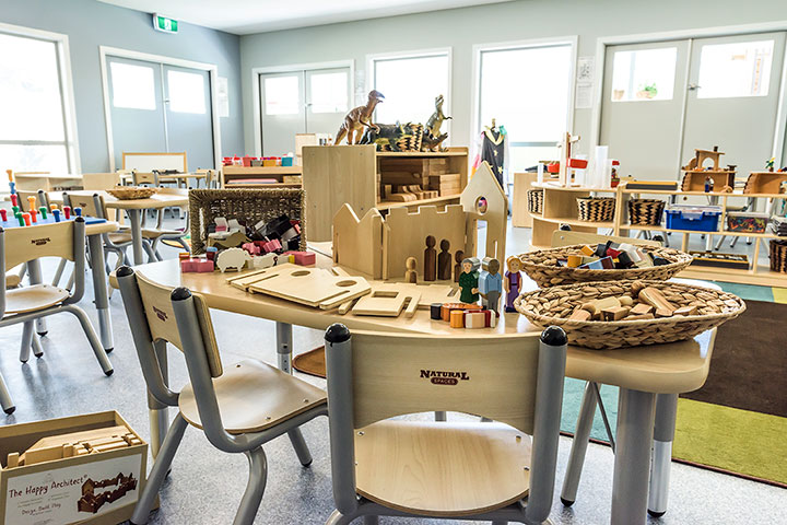 Natural Spaces furniture options for any early years educational centre.
