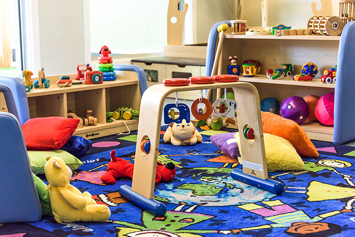 Welcoming spaces for the youngest of children with the SafeSpace furniture range.