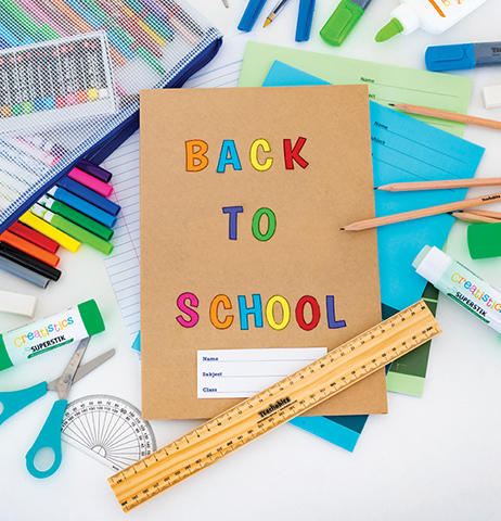 Get ready for the new school year and stock up on your back to school essentials.