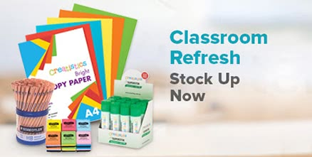 Classroom Refresh. Stock up now!