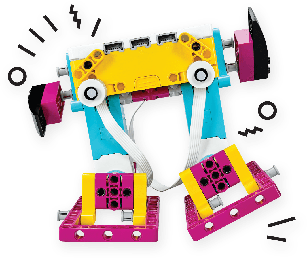 Lego Spike colourful robot