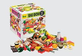 Big Box of Wooden Food
