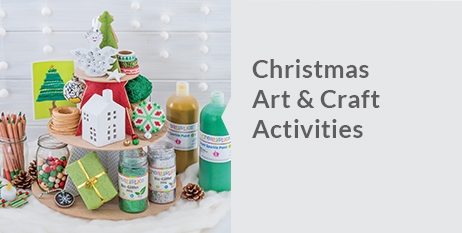 Our new Christmas Craft Catalogue is filled with all of your favourite resources. Browse the catalogue or our most popular Christmas product ranges