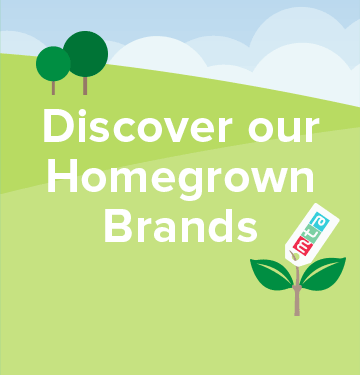 Discover our Homegrown Brands
