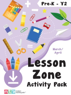 Pre-K Y2 - Lesson Zone Activity Pack