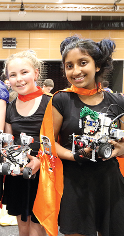 RoboCup Junior for Primary and High School students