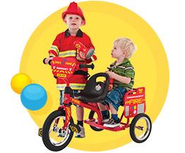Eurotrike Tandem Trike – Fire