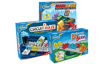 ThinkFun games collection