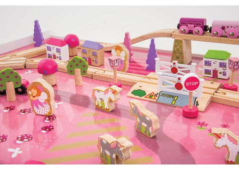 Magical Train Set With Table Parent Direct Catalogue