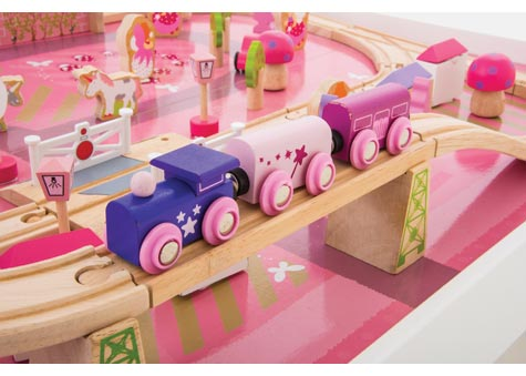 Magical Train Set with Table - Parent Direct Catalogue