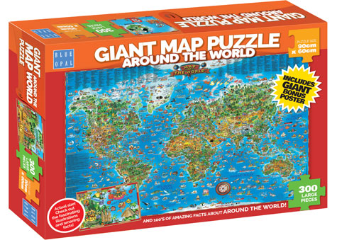 Toys under 30 giant around the world puzzle 300 pieces toys under 30 gumiabroncs Gallery