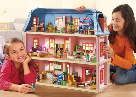 Playmobil dollhouse and accessories parent direct catalogue for Maison moderne playmobil