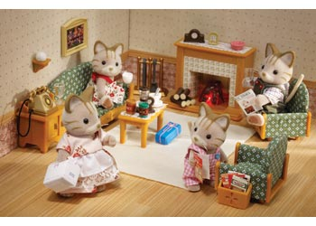 Sylvanian Families Deluxe Living Room Set Parent Direct Catalogue