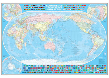 world map australia centred 138m x 10m maps