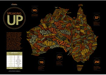 Maps science aboriginal language wall map gumiabroncs Images