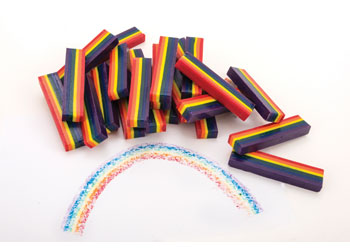 creatistics rainbow crayon sticks pack of 25 mta catalogue