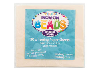 Ironing Paper for Iron On Beads – Pack of 30