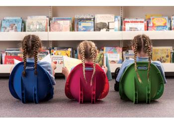 Scoop Rocker Chair Set Of 6 Assorted Colours Mta Catalogue