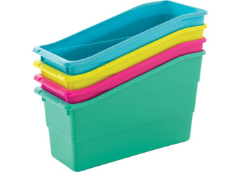 Classroom Book Caddies Assorted Pk 4