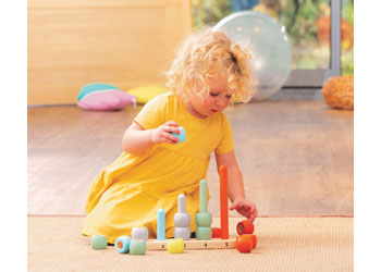 Counting Rods Pastel Colours 1-5