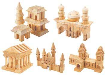 203 Piece Cities of The World Block Set