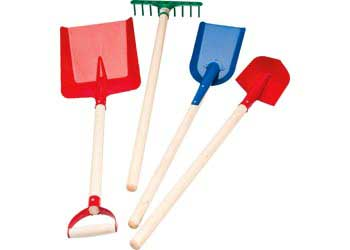 NYBY – Metal Sand Play Tools Set of 4