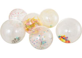 See-Through Sensory Balls – Set of 6