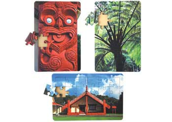 Tania Niwa Landscapes Of New Zealand Puzzles Set Of 3 Kesco