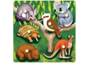 Tuzzles Australian Animals – 6 Pieces