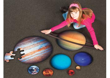 Tuzzles Planets Floor Puzzle