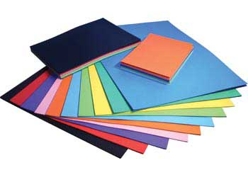 Coloured Cardboard 220gsm A4 Pack Of 100 Mta Catalogue