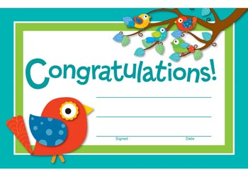 congratulations certificates pack of 30 mta catalogue