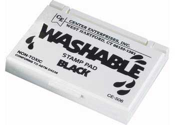 Small Washable Ink Pad – Black