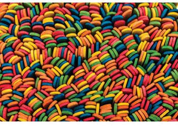 Paddle Pop Sticks Coloured – Pack of 1000