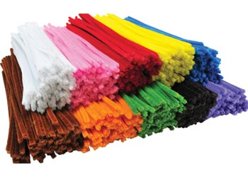 Assorted Pipe Cleaners Bulkpack 30cm Pack of 1000