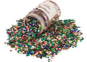 Glitter Stars – 100g Jar