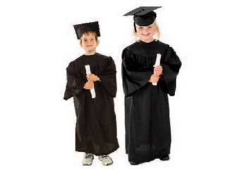 Graduation Gown Including Hat u2013 3-5 years  sc 1 st  Modern Teaching Aids & Graduation Gown Including Hat u2013 3-5 years - MTA Catalogue