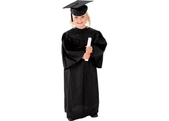0349309ac05 Graduation Gown Including Hat – 3-5 years - MTA Catalogue